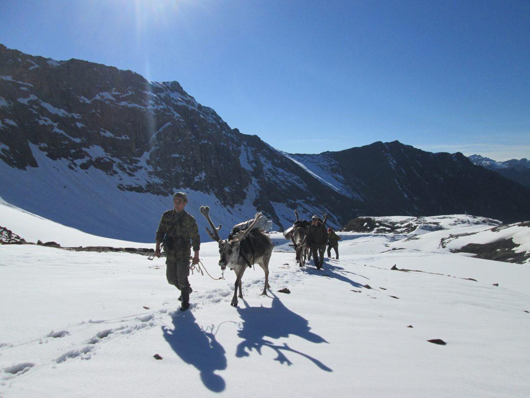 Soiot Reindeer Herder Hunters
